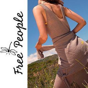 NEW FREE PEOPLE Knit Dress & Sweater Set